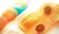 早餐夹心面包图片