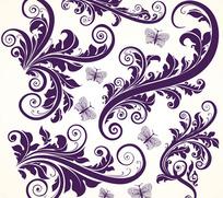 欧美花纹花边素材
