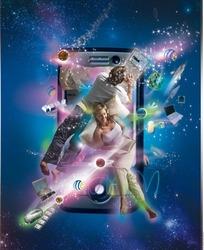 移动3G海报图片素材