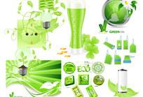 绿色环保系列矢量素材