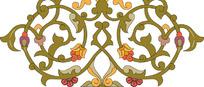 蒙古花纹纹样