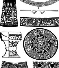 传统经典纹样素材