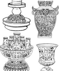 古典工艺品纹样
