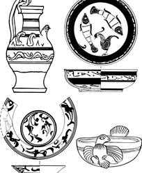 古典容器纹样