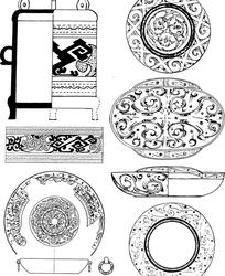 经典器皿纹样