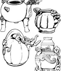 经典器皿装饰纹样