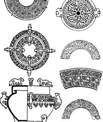 中国古典器皿纹样
