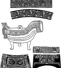 中国古典青铜器皿纹样