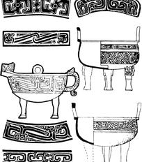 中国古老纹样素材