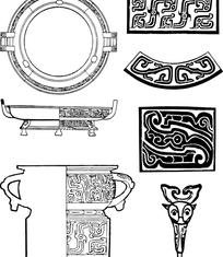 中国经典纹样素材