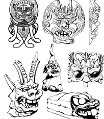中国古代动物形状器皿纹样