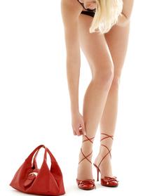 女包和女鞋模特展示