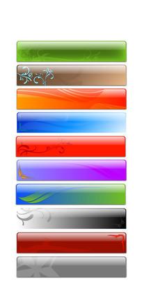 网页设计元素矢量素材-装饰