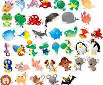 卡通动物大集合