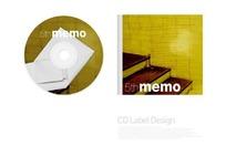纹理光盘封面设计模板