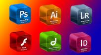 立方体adobe系列软件图标