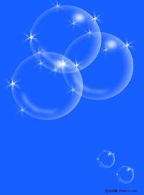 泡泡分层素材免费下载