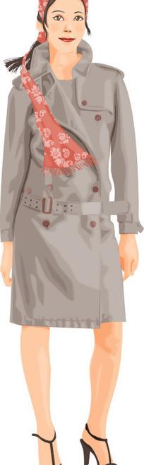 时尚老妇人