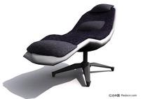 休息靠椅3D模型
