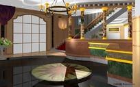 三维室内场景模型