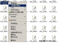 7zip批量压缩_把每个文件放到单独的压缩文件中