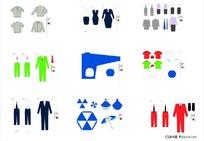 VI设计模板—服装服饰类(AI格式)