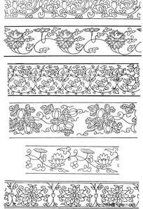 花藤装饰性边框