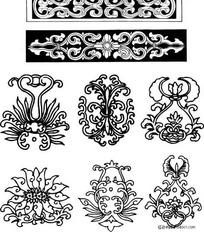 家居木雕纹饰花纹