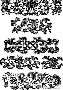 木雕纹饰图案