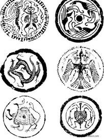 四大神兽图形