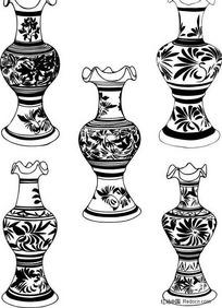 陶瓷容器纹饰