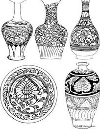 陶瓷图案图样