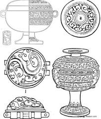 原始青铜器图腾纹饰