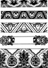 中国古式纹饰