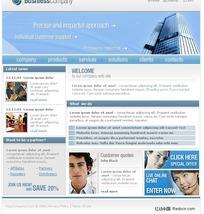 简洁公司网页模板