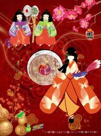 古代日本美女