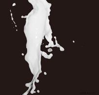 溅起的奶花