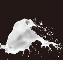 牛奶奶花素材