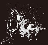 四溅的奶花素材图片