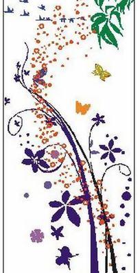 花纹与蝴蝶