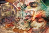 金融科技背景素材 金钱