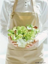 新鲜的蔬菜沙拉
