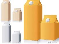 纸质奶瓶模型