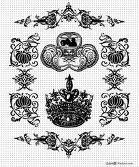 欧式皇冠徽记