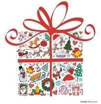 圣诞礼品合碎图