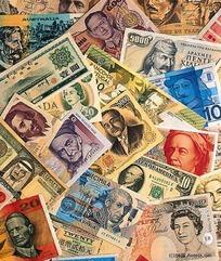 各国各式钱币