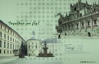 古典欧式建筑背景素材