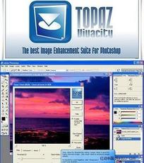 降噪锐化磨皮PS滤镜 TopazVivacity1.31汉化版(WIN系统PS滤镜,免安装)