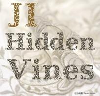 JI Hidden Vines花纹字体