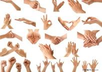 手的各种动作和手势